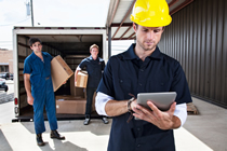 Janitorial Software Materials Receiving